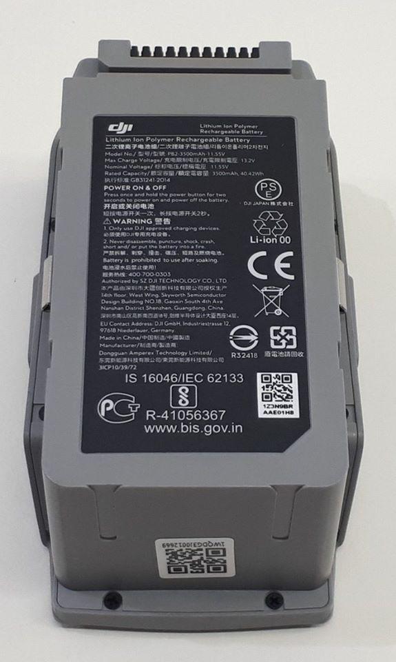 DJI Mavic Air 2 - bateria - zdjęcie z przecieków