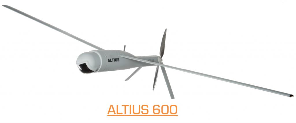 ALTIUS 600 - dron klasy ALE wystrzeliwany z zasobników z innego statku powietrznego