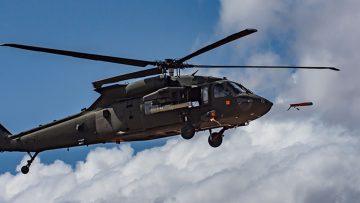 ALTIUS 600 testowany na śmigłowcu UH-60 Black Hawk