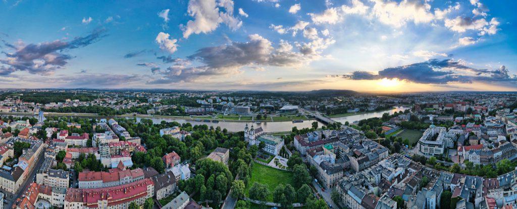 Panorama 180 stopni - DJI Mavic Air 2 - SwiatDronow.pl