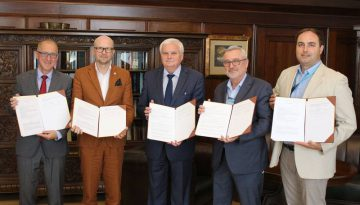 Podpisanie umowy pomiędzy Politechniką Wrocławską a NeuroSpace