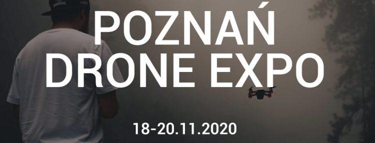 Poznan Drone Expo 2020 - ulotka