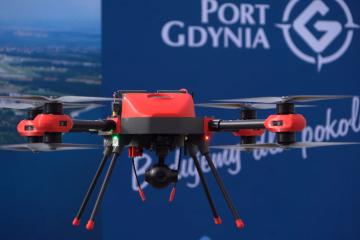 Dron Pelixar dla Portu Gdynia
