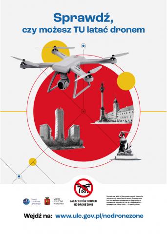 Sprawdź, czy możesz TU latać dronem - kampania społeczna ULC