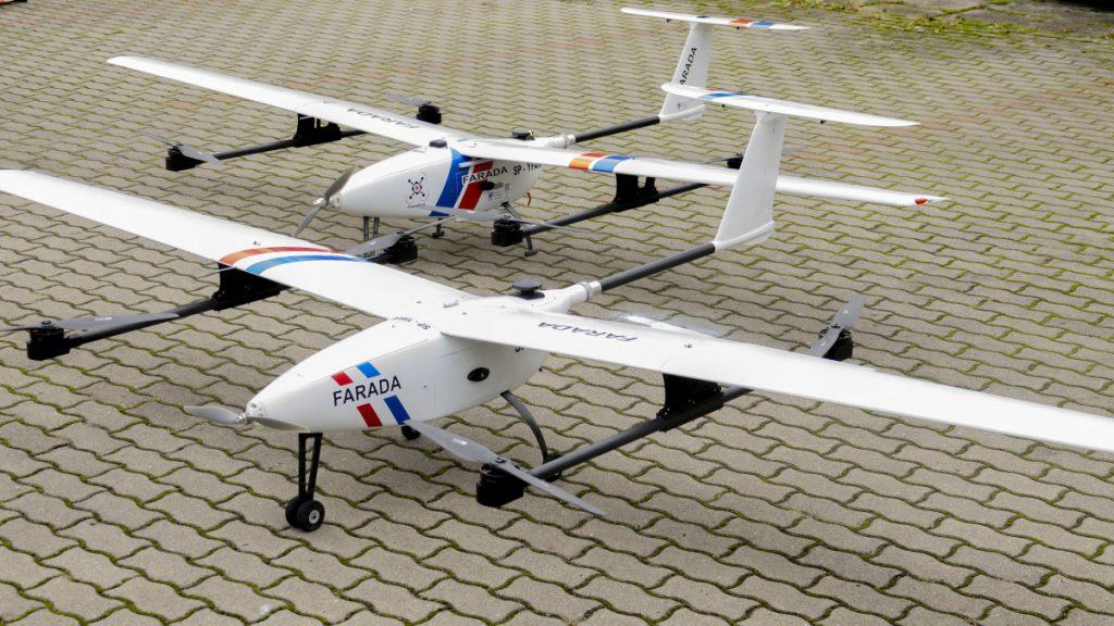 Dron medyczny spółki Farada Sp. z o. o.