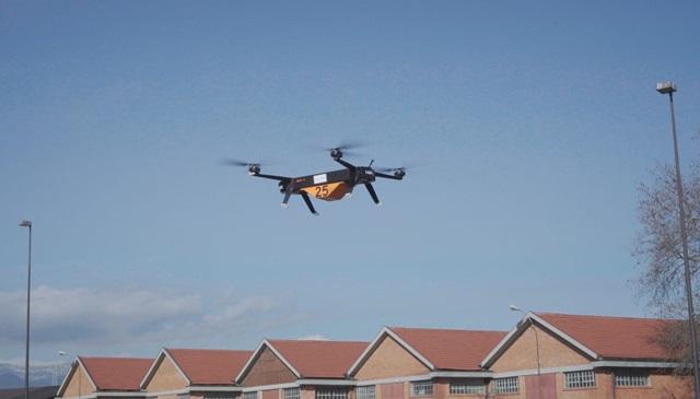 Drony Leonardo o wadze 130 kg w trakcie testów