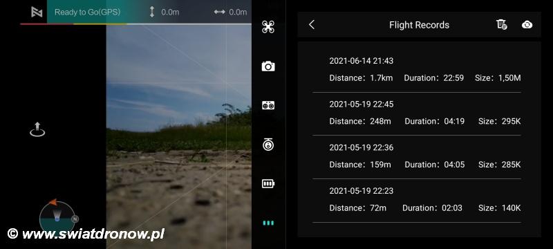 Aplikacja FIMI Navi Mini do Xiaomi FIMI X8 Mini