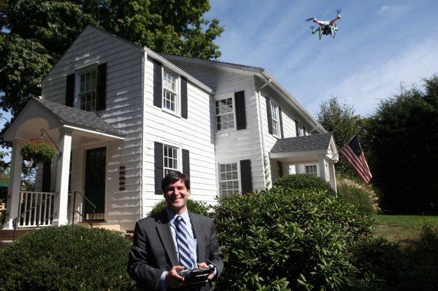 Drony w branży nierychomości