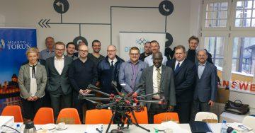 Toruń Miastem DroneReady - spotkanie grup roboczych w Toruniu - 15.02.2019
