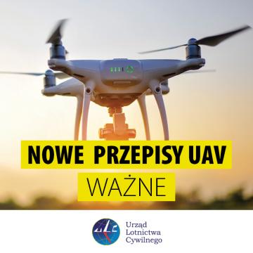 ULC - Nowe przepisy UAV