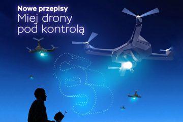 Miej drony pod kontrolą - kampania ULC