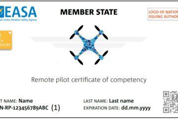 Certyfikat kompetencji pilota BSP - do podkategorii A2 kategorii otwartej