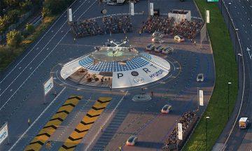 Wizualizacja lotniska - Copyrights Urban Air Port Ltd.