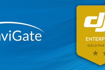 NaviGate Gold Partner DJI Enterprise